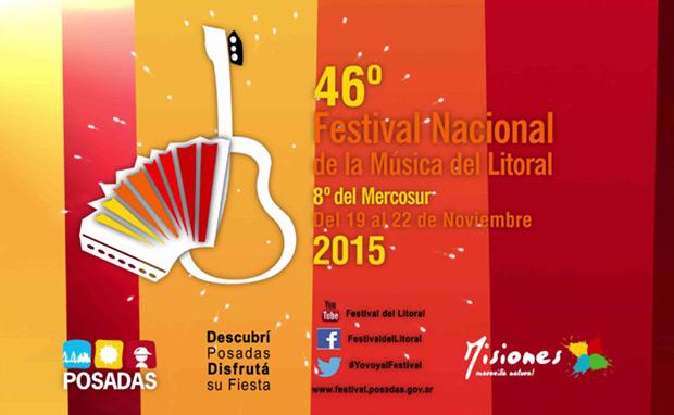 46º Festival Nacional de la Música del Litoral 8º del Mercosur 2015