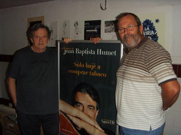 Fernando G. Lucini junto a Paco Martínez Climent © Javier Maroto