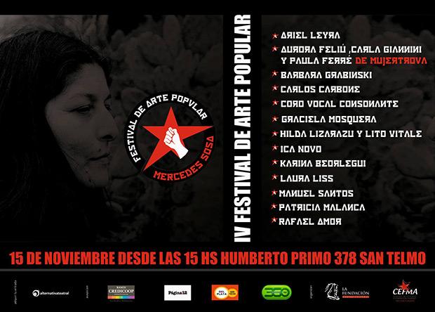 IV Festival de Arte Popular «Mercedes Sosa» 2015