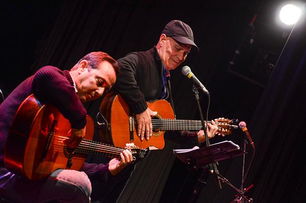 Vicente Feliú y Alejandro Valdés. © Kaloian Santos Cabrera