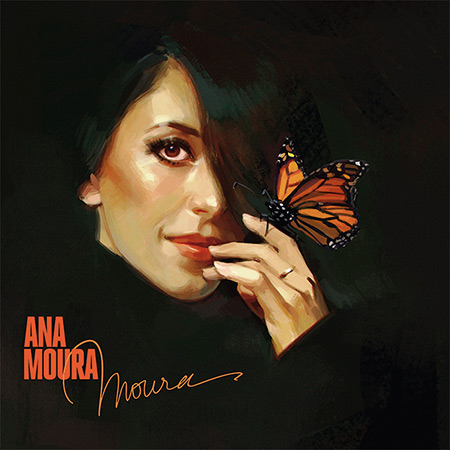Portada del disco «Moura» de Ana Moura.