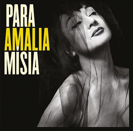Portada del disco «Para Amália» de Mísia.