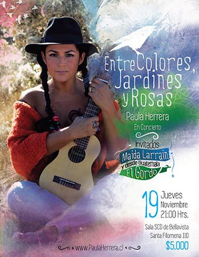 Paula Herrera adelantará «De la Rosa y el Espino», su nuevo disco el 19 de noviembre.