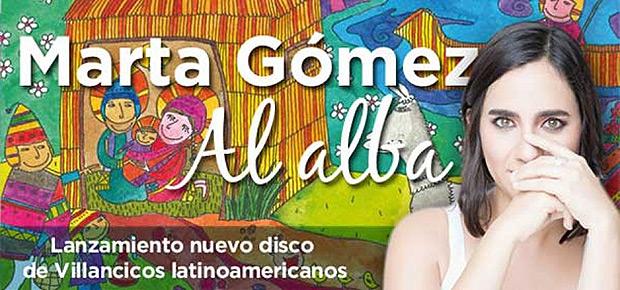 Marta Gómez presenta «Al alba» un disco de villancicos latinoamericanos.
