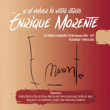 Portada del disco «...Y al volver la vista atrás» de Enrique Morente.