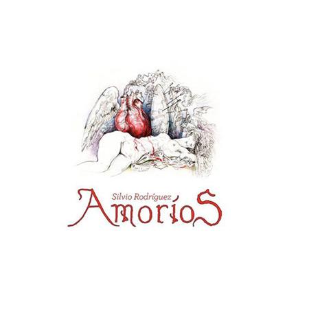 Portada del disco «Amoríos» de Silvio Rodríguez.