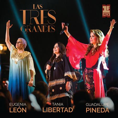 Portada del disco «Primera Fila» de Eugenia León, Tania Libertad y Guadalupe Pineda.