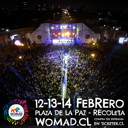 II WOMAD Chile 2016