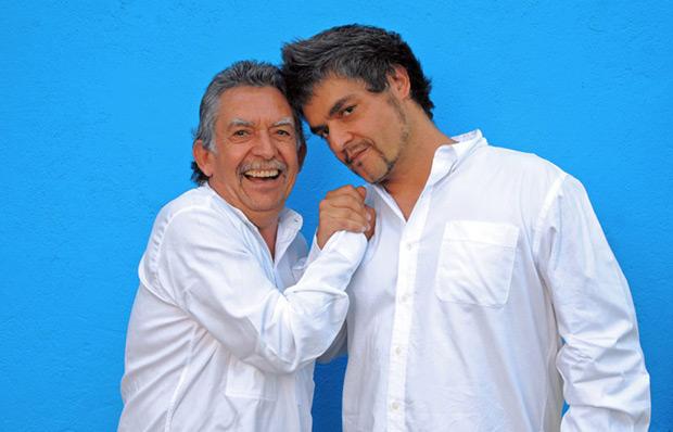 Ángel Parra padre e hijo darán un concierto gratuito en el Museo Violeta Parra.