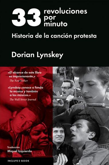 Portada del libro «33 revoluciones por minuto» de Dorian Lynskey.