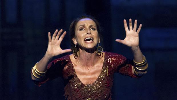 Ana Belén en el papel de «Medea».