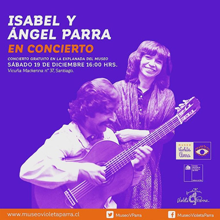 Isabel y Ángel Parra vuelven a cantar juntos tras 30 años.