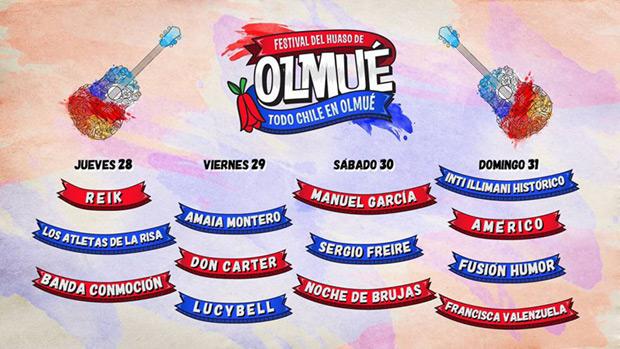 XLVII Festival de Huaso de Olmué 2016