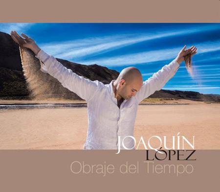 Portada del disco «Obraje del tiempo» de Joaquín López.