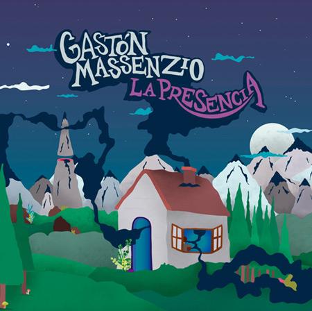 Portada del disco «La presencia» de Gastón Massenzio.