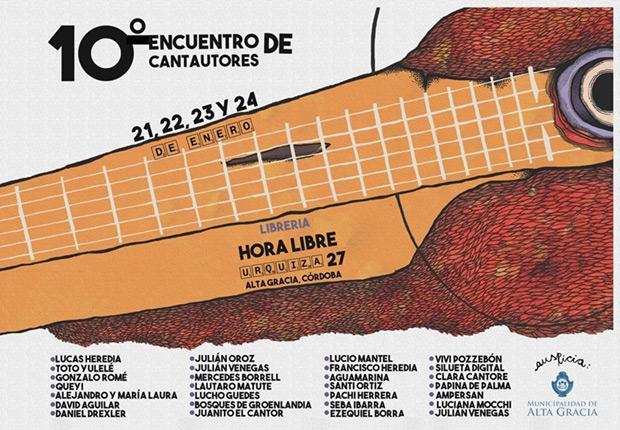 10 Encuentro de Cantautores Alta Gracia (Córdoba, Argentina) 2016