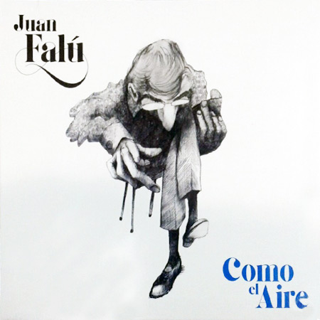 Portada del disco «Como el aire» de Juan Falú.