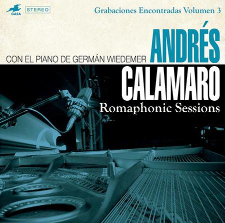 Portada del disco «Romaphonic Sessions» de Andrés Calamaro y Germán Wiedemer.