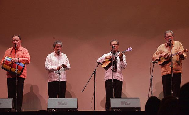 Serenata Guayanesa en «Un Canto para Hernán Gamboa». © Ricardo Herdenez | AVN