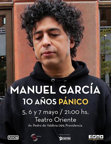 Manuel García en el Teatro Oriente de Providencia.