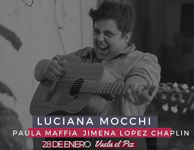 Luciana Mocchi en Vuela el Pez Club de Arte.