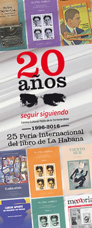 El Centro Pablo de la Torriente Brau con seis nuevos títulos y mucha trova en Feria del Libro.