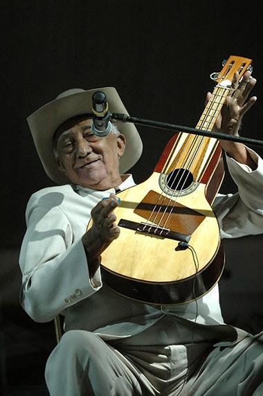 Anselmo López, el «rey de la bandola». © Prensa MPPC
