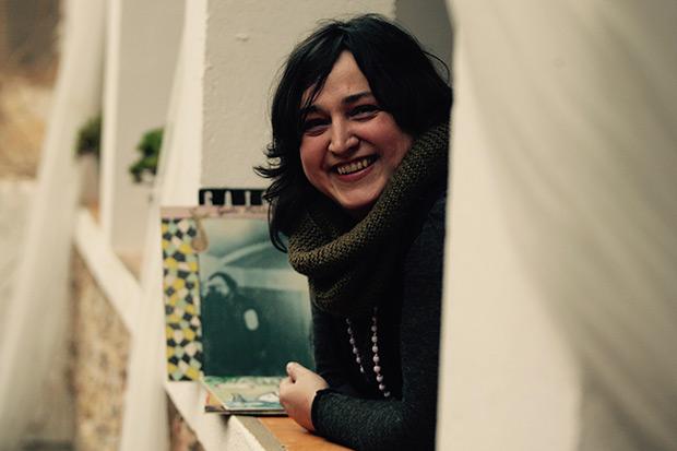 Jessi Pérez: «Queremos reeditar su obra nosotros directamente, con un sello propio, y si no puede ser pues provocar que se haga y con la mayor calidad posible». © Elena Carreras