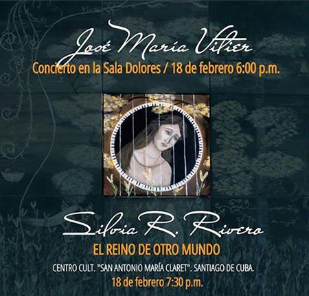 José María Vitier, inédito concierto piano y poesía en Santiago de Cuba.