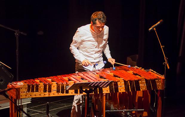 En el Pacífico Sur de México, en la provincia de Chiapas, la marimba es un emblema regional importantísimo. Su condición de instrumento cromático le permite interpretar todo tipo de repertorio. © Xavier Pintanel