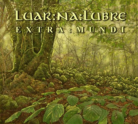 Portada del disco «Extra Mundi» de Luar Na Lubre.