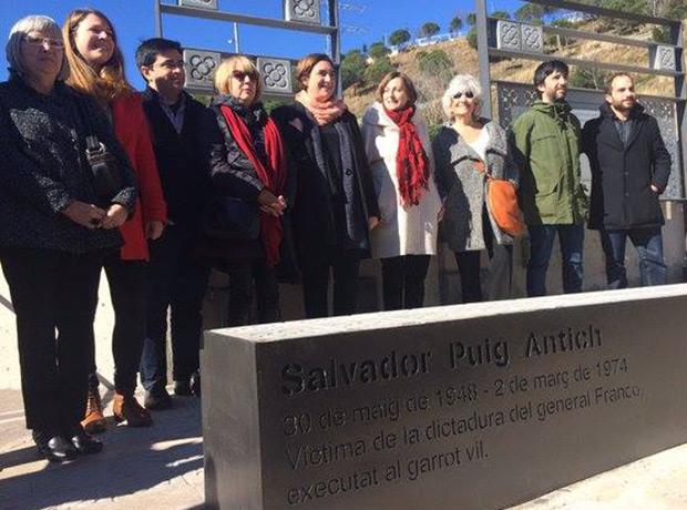 Barcelona rinde homenaje a Salvador Puig Antich.