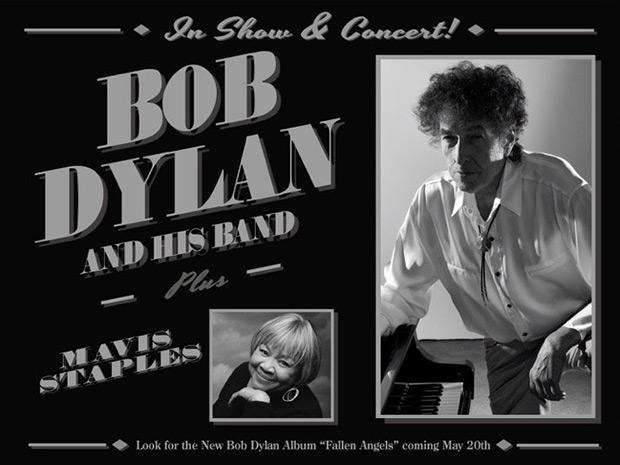 Gira por Japón y Estados Unidos de Bob Dylan.