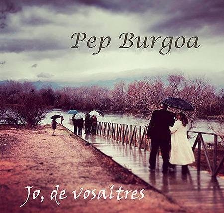 Portada del disco «Jo, de vosaltres» de Pep Burgoa.