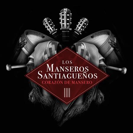 Portada del disco «Corazón de Mansero» de Los Manseros Santiagueños.