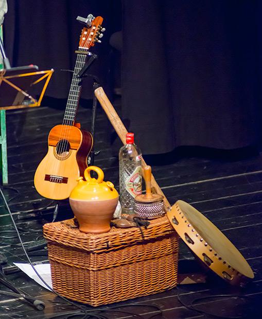 El guitarró. © Xavier Pintanel