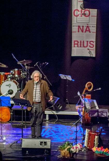 Jordi Fàbregas, director del festival Tradicionàrius. © Xavier Pintanel