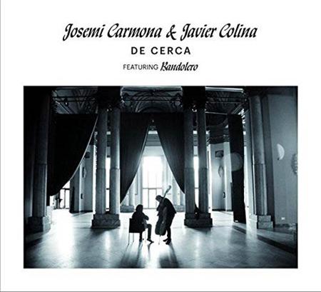 Portada del disco «De cerca» de Josemi Carmona y Javier Colina.