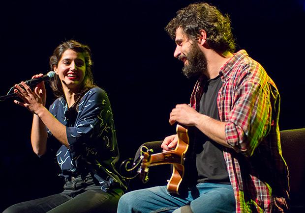 Maria Arnal y Marcel Bagés. © Xavier Pintanel