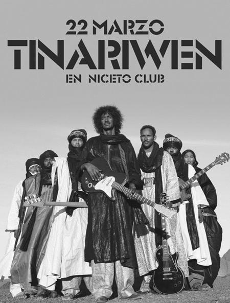 Tinariwen en el Niceto de Buenos Aires.