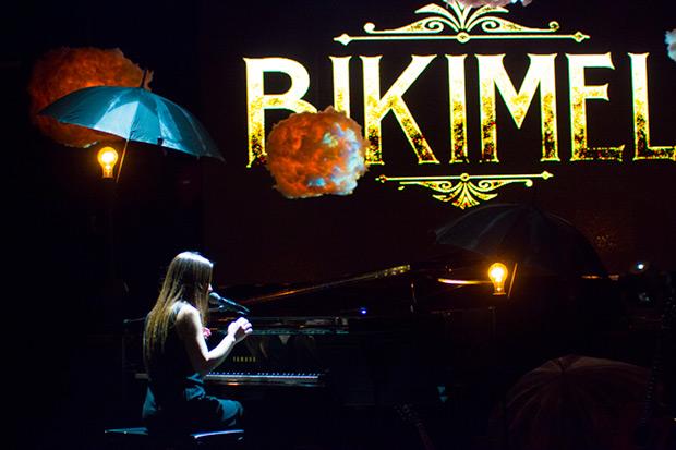 Bikimel al piano. © Xavier Pintanel