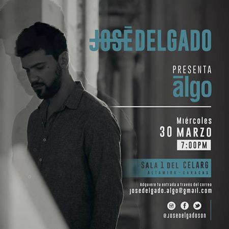 José Alejandro Delgado presenta «Algo», su quinto trabajo.