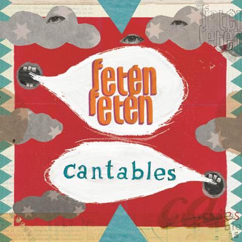 Portada del disco «Cantables» de Fetén Fetén.