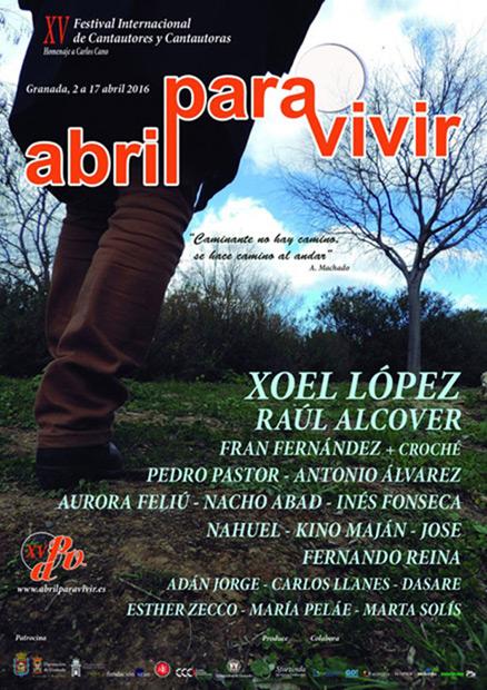 Festival Abril para vivir 2016.