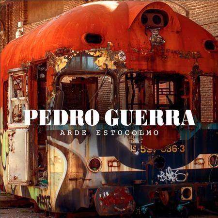 Portada del disco «Arde Estocolmo» de Pedro Guerra.