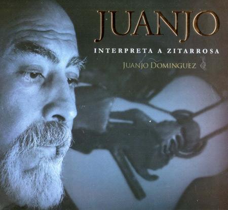 Portada del disco «Interpreta a Zitarrosa» de Juanjo Domínguez.