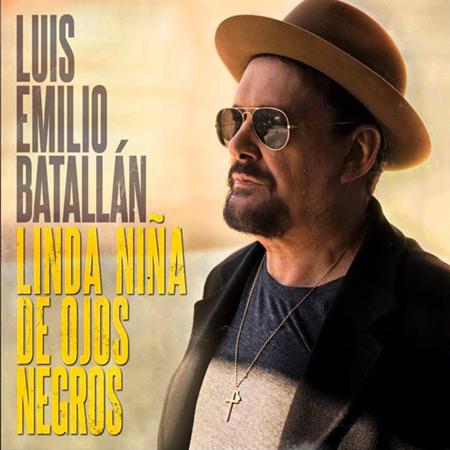 Portada del single «Linda niña de ojos negros» de Luis Emilio Batallán.