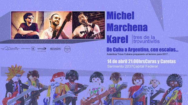 El colectivo de cantautores cubanos «La Trovuntivitis» llega a Buenos Aires.