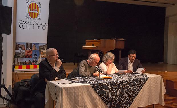 Presentación del libro de Luis García Gil «Joan Isaac. Bandera negra al cor». © Pol Pintanel