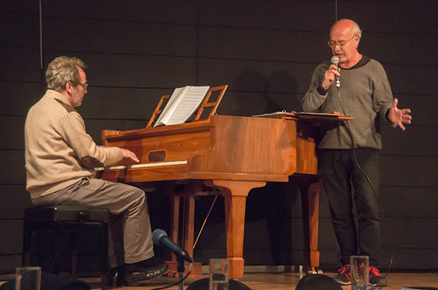 Antoni-Olaf Sabater y Joan Isaac. © Pol Pintanel